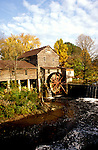 TN: Tennessee Great Smoky Mountains National Park, Mtns, Pigeon Forge, The Old Mill      .Photo Copyright: Lee Foster, lee@fostertravel.com, www.fostertravel.com, (510) 549-2202.Image: tnsmok206