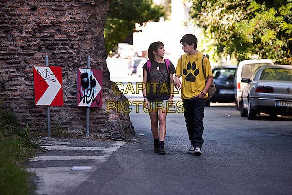 Manuela Martelli, Luigi Ciardo<br /> in The Future (2013) <br /> (Il futuro)<br /> *Filmstill - Editorial Use Only*<br /> CAP/FB<br /> Image supplied by Capital Pictures