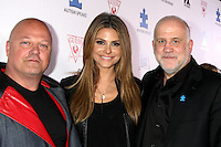 LOS ANGELES - OCT 24:  Michael Chiklis, Maria Menounos, Chuck Saftler at the Blue Jean Ball benefiting Austism Speaks at Boulevard 3 on October 24, 2013 in Los Angeles, CA