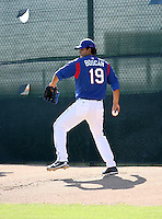 Wilfredo Boscan / Texas Rangers 2008 Instructional League..Photo by:  Bill Mitchell/Four Seam Images