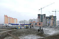 Ukraine, Kiev, Pozniaky, Suburbs, Periphery