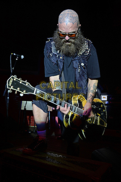 FORT LAUDERDALE FL - MARCH 17: Tim Armstrong of Rancid performs at Revolution on March 17, 2016 in Fort Lauderdale, Florida. <br /> CAP/MPI/mpi04<br /> &copy;mpi04/MPI/Capital Pictures