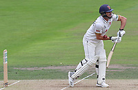 Essex captain Ryan ten Doeschate receives a painful blow whilst batting during Nottinghamshire CCC vs Essex CCC, Specsavers County Championship Division 1 Cricket at Trent Bridge on 11th September 2018