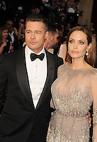 WWW.BLUESTAR-IMAGES.COM  Actors Brad Pitt (L) and Angelina Jolie attend the 86th Annual Academy Awards held at Hollywood &amp; Highland Center on March 2, 2014 in Hollywood, California.<br /> Photo: BlueStar Images/OIC jbm1005  +44 (0)208 445 8588