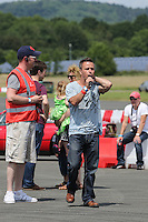 Craig Phillips (Big Brother) during The Children's Trust Supercar Event at Dunsfold Park, Surrey, England on 22 June 2014. Photo by Andy Rowland.