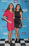 LOS ANGELES, CA. - October 17: Kayla Ewell and Nina Dobrev arrive at Spike TV's Scream 2009 held at the Greek Theatre on October 17, 2009 in Los Angeles, California.