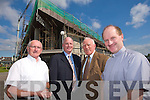 ROOF: Members of the Fundraising committee for the repair of the roof of Our Lady and St Brendan's parish in Tralee from left Fr. Patsy Lynch, Ger O'Sullivan, Paddy Brosnan and Fr. Padraig Walsh.