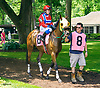 Prospect Garden with Nora Holm aboard before The International Ladies Fegentri race at Delaware Park on 6/13/17