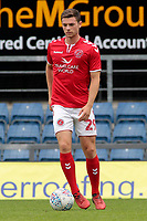 Fleetwood Town's Nathan Sheron during the pre-match warm-up <br /> <br /> Photographer David Shipman/CameraSport<br /> <br /> The EFL Sky Bet League One - Oxford United v Fleetwood Town - Saturday August 11th 2018 - Kassam Stadium - Oxford<br /> <br /> World Copyright &copy; 2018 CameraSport. All rights reserved. 43 Linden Ave. Countesthorpe. Leicester. England. LE8 5PG - Tel: +44 (0) 116 277 4147 - admin@camerasport.com - www.camerasport.com