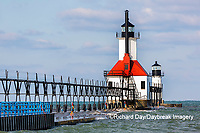 64795-02717 St. Joseph North Pier Lighthouses St. Joseph, MI