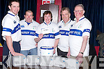 DRAW: At Tralee Rugby Club on Thursday night the fundraising draw for two tickets and accommodation/transport to each of the Irelands Six Nations games took place. L-r: Tommy Culloty (club capt), Ray Gadsden (coach), Mags Hayes (chairperson), Jack O'Driscoll (president) and Arthur Townsend (trustee). Winners: Draw 1 Ireland v Wales - James P Lynch. Draw 2 Ireland v France - PJ Dollery. Draw 3 Ireland v England - Conor Kavanagh. Draw 4 Ireland v Scotland - Finola Revington. Draw 5 Ireland v Italy - Richard Barrett.