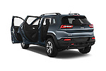 Car images close up view of a 2017 Volkswagen Cherokee Trailhawk 4X4 5 Door SUV doors