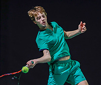 Hilversum, Netherlands, December 3, 2017, Winter Youth Circuit Masters, 12,14,and 16 years, Guy den Ouden (NED)<br /> Photo: Tennisimages/Henk Koster