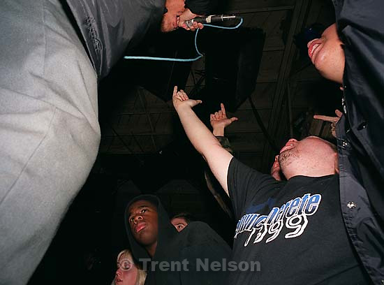The Hoods at Gilman St.<br />
