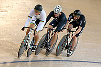 Ethan Mitchell, Sam Webster and Zac Williams during training, Avantidrome, Home of Cycling, Cambridge, New Zealand, Friday, March 17, 2017. Mandatory Credit: © Dianne Manson/CyclingNZ  **NO ARCHIVING**