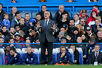Fulham Manager, Claudio Ranieri during Chelsea vs Fulham, Premier League Football at Stamford Bridge on 2nd December 2018