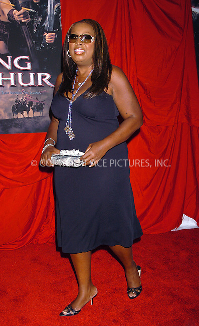 Star Jones attending the premiere of 'King Arthur' in New York, June 28, 2004. Please byline: AJ SOKALNER/ACE Pictures.   .. *** ***..All Celebrity Entertainment, Inc:  ..contact: Alecsey Boldeskul (646) 267-6913 ..Philip Vaughan (646) 769-0430..e-mail: info@nyphotopress.com