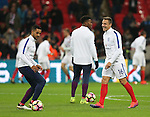 Phil Jagielka of England warms up before the International Friendly match at Wembley Stadium, London. Picture date: November 15th, 2016. Pic David Klein/Sportimage