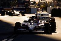 Grand Prix of St. Petersburg, 3 April, 2005.Dan Wheldon leads teammates Dario Franchitti and Bryan Herta..Copyright©F.Peirce Williams 2005.  ref.Digital Image Only