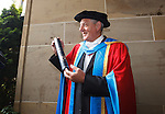 Walter Smith is awarded an honorary degree by Glasgow Caledonian University, the ex Rangers and Scotland manager is a Doctor of the University in recognition for his achievements in Scottish Football