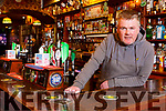 Aidan O'Connor in Mike the Pies bar in Listowel on Thursday night.