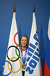 22/02/2014 - Lizzy Yarnold Press conference - Dostoyevsky Hall - MPC - Sochi - Russia