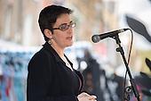 Camden Council Leader Sarah Hayward launches revamped Chalton Street market.