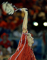 20030921, Zwolle, Davis Cup, NL-India, Schalken