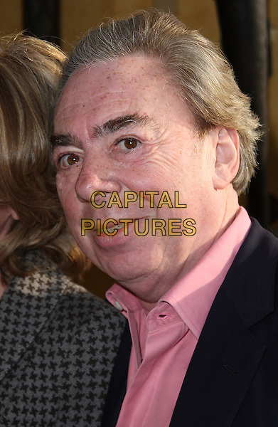 SIR ANDREW LLOYD WEBBER .Attending the South Bank Show Awards at the Dorchester Hotel, Park Lane, London, England, UK, .January 26th 2010..outside arrivals portrait headshot pink shirt .CAP/JIL.©Jill Mayhew/Capital Pictures