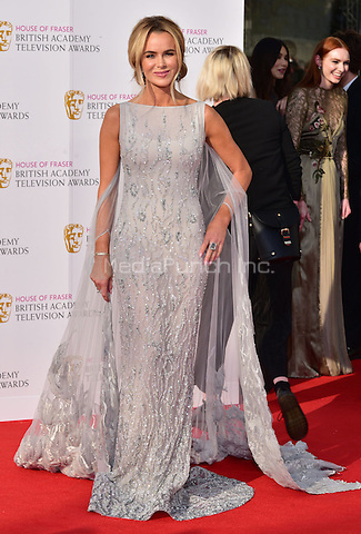 LONDON, ENGLAND - MAY 08: Amanda Holden at he British Academy (BAFTA) Television Awards 2016, Royal Festival Hall, Belvedere Road, London, England, UK, on Sunday 08 May 2016.<br /> CAP/JOR<br /> &copy;JOR/Capital Pictures /MediaPunch ***NORTH AMERICA AND SOUTH AMERICA ONLY***