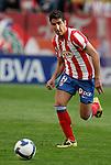 Atletico de Madrid's Raul Garcia during La Liga match, April 05, 2009. (ALTERPHOTOS/Alvaro Hernandez).