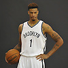 Brooklyn Nets No. 1 Chris McCullough, the organization's first round draft pick (28th overall) in 2015, poses for portraits during Media Day held at the team's practice center in East Rutherford, New Jersey on Monday, September 28, 2015.<br /> <br /> James Escher