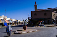 Tiznit is a city approx 100 km south of Agadir, Morocco, known for silver handicraft.
