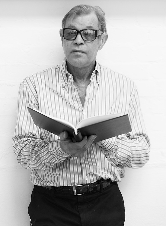 """King Lear"" rehearsed reading rehearsals. Old Vic Theatre. Director: Jonathan Miller. Michael York."