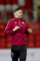 12th February 2020; McDairmid Park, Perth, Perth and Kinross, Scotland; Scottish Premiership Football, St Johnstone versus Motherwell; Tony Watt of Motherwell during the warm up before the match