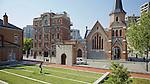 The Union Church & Apartments (Left).