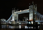 Tower Bridge, Bascule and Suspension Bridge, f/5.6, River Thames, London, England, UK