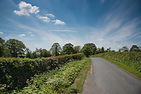 A country road, Chipping, Lancashire.