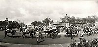BNPS.co.uk (01202 558833)<br /> Pic: PhilYeomans/BNPS<br /> <br /> Passage to India - Viscount Goschen parading through Madras on his way to Governers House in 1924.<br /> <br /> Last Days of the Raj - A fascinating family album from one of the last Viceroy's of India reveal Britain's 'Jewel in the Crown' in all its splendour.<br /> <br /> The family album of Viscount George Goschen has been unearthed after 90 years, and provide's an amazing snapshot of the pomp and pageantry of a wealthy and powerful British family in India in the 1920s and 30's.<br /> <br /> They show the Governor of Madras and his family enjoying a lavish lifestyle of parades, banquets and hunting and horse racing in the last decades of the Raj.<br /> <br /> At the time, Gandhi was organising peasants, farmers and labourers to protest against excessive land-tax and discrimination. <br /> <br /> The album consists of some 300 large photographs. They have remained in the family for 90 years but have now emerged for auction following a house clearance and are tipped to sell for &pound;200.