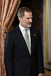King Felipe VI of Spain receives COP25 participants at the Royal Palace. December 2,2019. (ALTERPHOTOS/Pool/Carlos Alvarez)