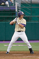 April 27, 2008: University of Washington's Brad Boyer at bat against UCLA at Husky Ballpark in Seattle, Washington.