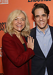 """Rachel Bay Jones and Steven Levenson attends the After Party for the Second Stage Production of """"Days Of Rage"""" at Churrascaria Platforma on October 30, 2018 in New York City."""