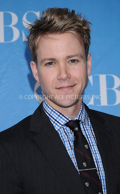 WWW.ACEPIXS.COM . . . . . ....May 20 2009, New York City....Actor Christopher Hanke at the 2009 CBS Upfront at Terminal 5 in Manhattan on May 20, 2009 in New York City.....Please byline: AJ SOKALNER - ACEPIXS.COM.. . . . . . ..Ace Pictures, Inc:  ..tel: (212) 243 8787 or (646) 769 0430..e-mail: info@acepixs.com..web: http://www.acepixs.com