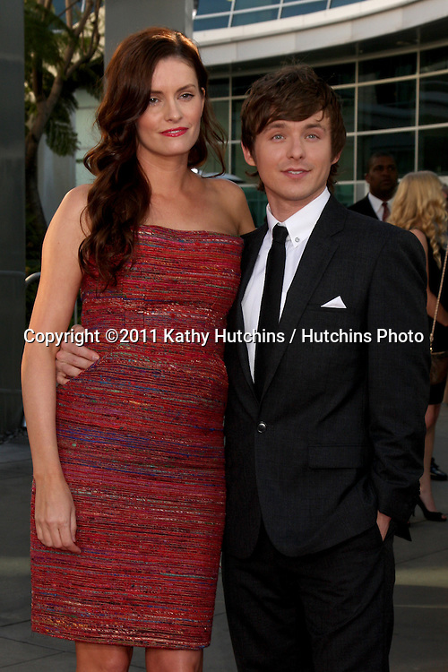 LOS ANGELES - JUN 21:  Jamie Anne. Marshall Allman arriving at the True Blood Season 4 Premiere at ArcLight Theater on June 21, 2011 in Los Angeles, CA
