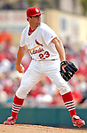 14 March 2007: St. Louis Cardinals pitcher Anthony Reyes in the action against the Washington Nationals at Roger Dean Stadium in Jupiter, Florida...Mandatory Photo Credit: Ed Wolfstein Photo