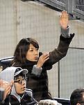 Mai Tanaka, APRIL 9, 2014 - MLB : Mai Tanaka (New York Yankees' picther Masahiro Tanaka's wife) is seen during the MLB game between the New York Yankees and the Baltimore Orioles at Yankee Stadium in The Bronx, New York, United States. (Photo by AFLO)
