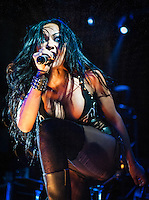 The Butcher Babies perform at the House of Blues in New Orleans, LA on May 27, 2014.