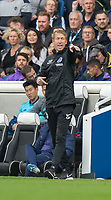 Brighton & Hove Albion Head Coach Graham Potter  shouts instructions to his team from the technical area<br /> <br /> Photographer David Horton/CameraSport<br /> <br /> The Premier League - Brighton and Hove Albion v Tottenham Hotspur - Saturday 5th October 2019 - The Amex Stadium - Brighton<br /> <br /> World Copyright © 2019 CameraSport. All rights reserved. 43 Linden Ave. Countesthorpe. Leicester. England. LE8 5PG - Tel: +44 (0) 116 277 4147 - admin@camerasport.com - www.camerasport.com