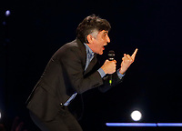 Vincenzo Salemme performs during &quot;Pino &egrave;&quot; tribute concert at Pino Daniele, Italian singer dead in 2015,<br /> <br /> Naples 07 june 2018