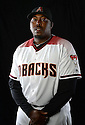 Arizona Diamondbacks Garvin Alston (47) during photo day on February 28, 2016 in Scottsdale, AZ.
